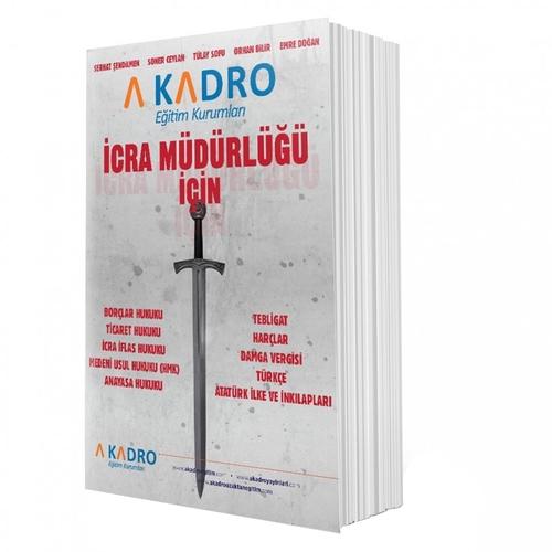 İcra Müdürlüğü Konu Anlatımı A Kadro Yayınları 2019