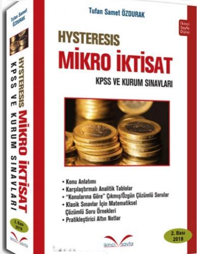 İkinci Sayfa Hysteresis Mikro İktisat KPSS A ve Kurum Sınavları