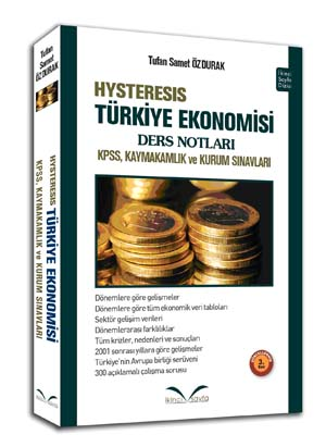 İkinci Sayfa Hysteresis Türkiye Ekonomisi Ders Notları %22 indirimli T