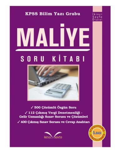 İkinci Sayfa Maliye Soru Kitabı