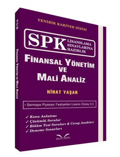 İkinci Sayfa SPK Finansal Yönetim ve Mali Analiz - Nihat Yaşar