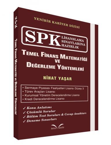 İkinci Sayfa SPK Temel Finans Matematiği ve Değerleme Yöntemleri - Nihat Yaşar
