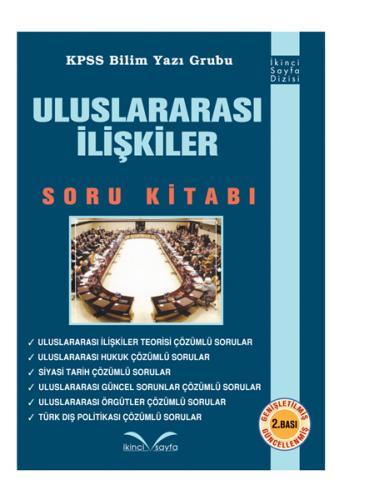 İkinci Sayfa Uluslararası İlişkiler Soru Kitabı