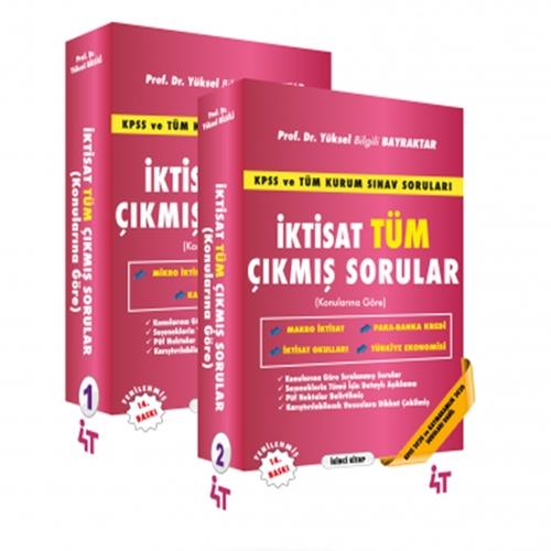4T Yayınları İktisat Tüm Çıkmış Sorular Konularına Göre Yüksel Bilgili
