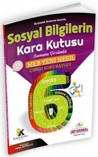 İnformal Yayınları 6. Sınıf Sosyal Bilgilerin Kara Kutusu Çıkmış Soru Havuzu