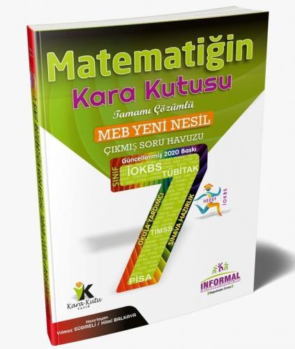 İnformal Yayınları 7. Sınıf Matematiğin Kara Kutusu Tamamı Çözümlü Soru Bankası