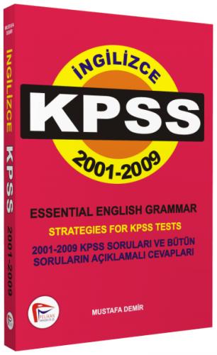 İngilizce KPSS 2001 - 2009