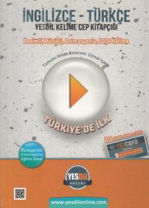 İngilizce Türkçe Yesdil Kelime Cep Kitapçığı - ( 30 Gün Online Eğitim Paketi Hediyesiyle )