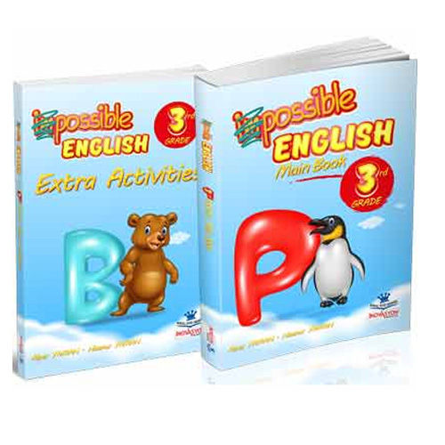 İnovasyon 3. Sınıf Possible English Main Book + Extra Activities