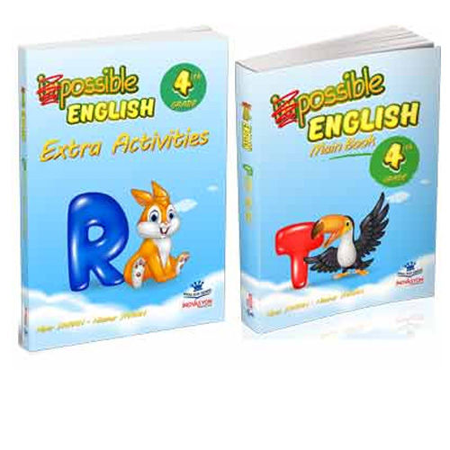 İnovasyon 4. Sınıf Possible English Main Book + Extra Activities