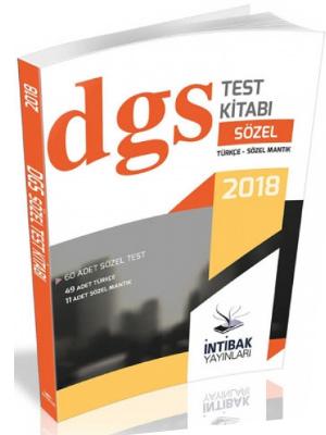 İntibak DGS Sözel Yaprak Test Kitabı 2018