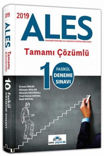 İrem ALES Tamamı Çözümlü 10 Fasikül Deneme Sınavı 2019