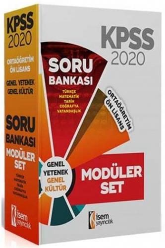 İsem Yayıncılık 2020 KPSS Ortaöğretim Ön Lisans Soru Bankası Seti %45