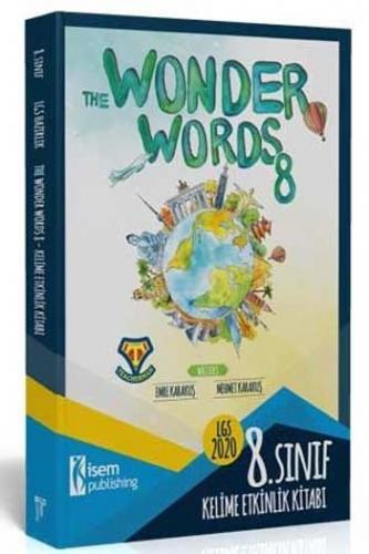 İsem Yayıncılık 8. Sınıf İngilizce Kelime Etkinlik Kitabı The Wonder Words 8