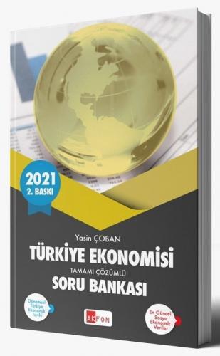 Akfon Yayınları 2021 Türkiye Ekonomisi Soru Bankası Çözümlü Yasin Çoba