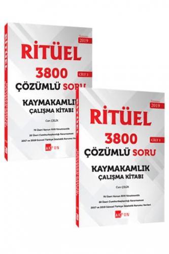 Kaymakamlık RİTÜEL 3800 Çözümlü Soru Bankası 2 Cilt