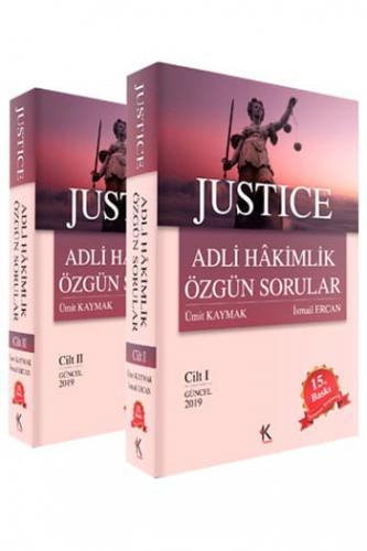 JUSTİCE Adli Hakimlik Özgün Sorular 2 Cilt