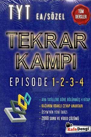 Kafa Dengi Yayınları TYT Tüm Dersler Sözel-Eşit Ağırlık Tekrar Kampı K