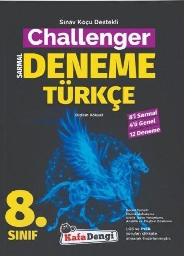 Kafa Dengi Yayınları 8. Sınıf Türkçe Challenger Sarmal Deneme Komisyon