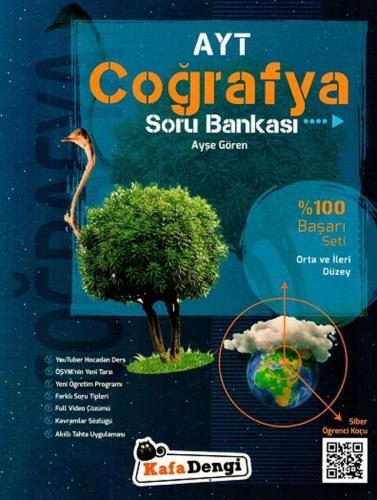 Kafa Dengi Yayınları AYT Coğrafya Orta ve İleri Düzey Soru Bankası