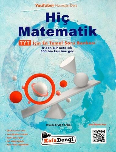 Kafa Dengi Yayınları TYT Hiç Matematik Soru Bankası Cemile Eryiğit Arg