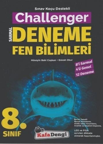 Kafa Dengi Yayınları 8. Sınıf Fen Bilimleri Challenger Sarmal Deneme K