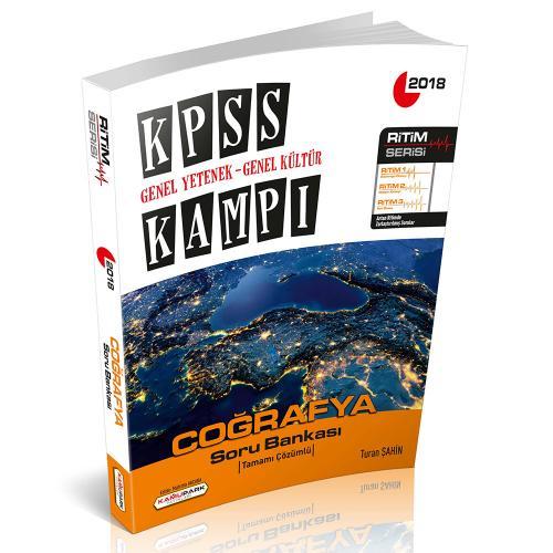 Kamupark KPSS Kampı Ritim Serisi Coğrafya Soru Bankası 2018