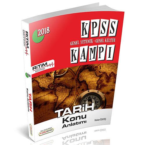 Kamupark KPSS Kampı Tarih Konu Anlatımlı Ritim Serisi
