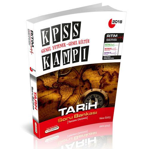 Kamupark KPSS Kampı Tarih Soru Bankası Ritim Serisi 2018