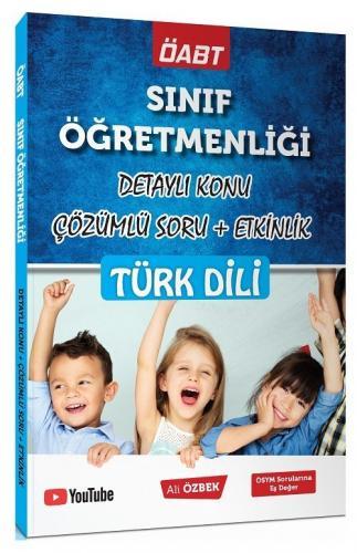 Ali Özbek 2021 ÖABT Sınıf Öğretmenliği Türk Dili Konu Anlatımlı Soru B