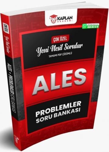 Kaplan Akademi ALES Problemler Tamamı PDF Çözümlü Soru Bankası Komisyo