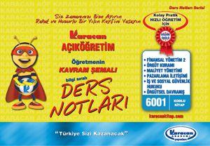 Karacan 3. Sınıf İşletme - 6001