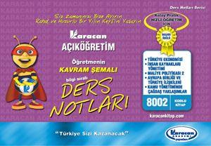 Karacan 4.Sınıf Kamu Yönetimi - 8002