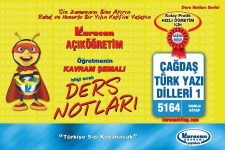 Karacan Çağdaş Türk Yazı Dilleri 1 - 5164