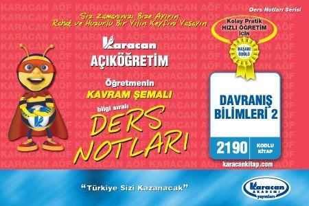 Karacan Davranış Bilimleri 2 - 2190