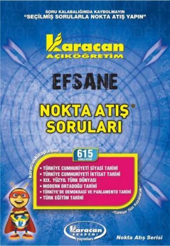 Karacan Efsane Nokta Atış Soruları - 615