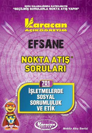 Karacan Efsane Nokta Atış Soruları - 701