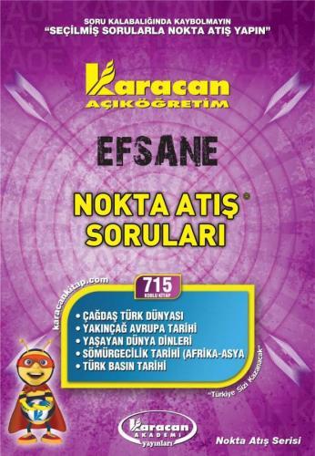 Karacan Efsane Nokta Atış Soruları - 715