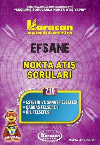 Karacan Efsane Nokta Atış Soruları - 716
