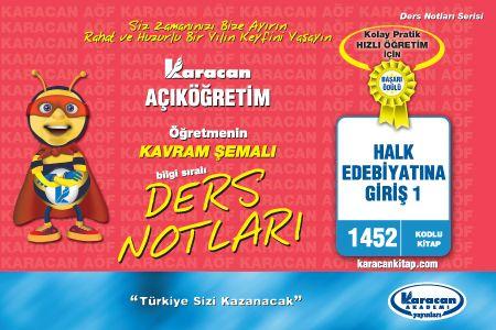Karacan Halk Edebiyatına Giriş 1- 1452
