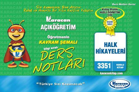 Karacan Halk Hikayeleri - 3351