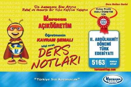 Karacan II. Abdülhamit Dönemi Türk Edebiyatı - 5163