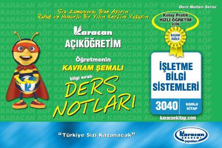 Karacan İşletme Bilgi Sistemleri - 3040