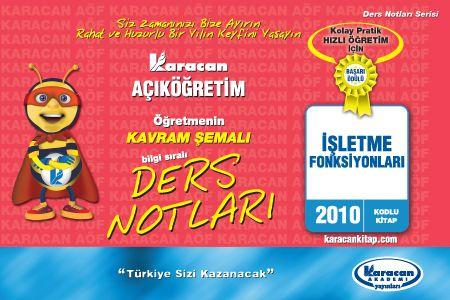 Karacan İşletme Fonksiyonları - 2010