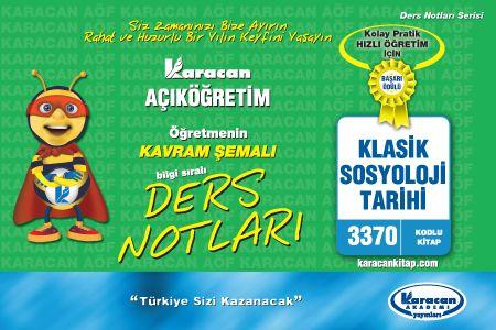 Karacan Klasik Sosyoloji Tarihi - 3370
