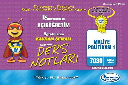 Karacan Maliye Politikası 1- 7030