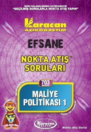 Karacan Maliye Politikası 1 - 703