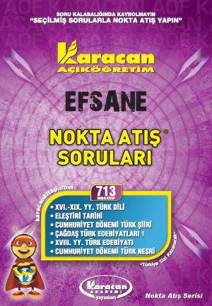 Karacan Nokta Atış Soruları - 713
