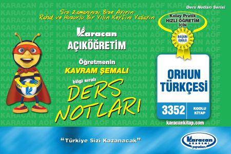Karacan Orhun Türkçesi - 3352