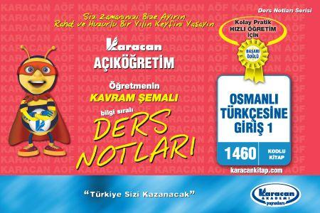 Karacan Osmanlı Türkçesine Giriş 1 - 1460